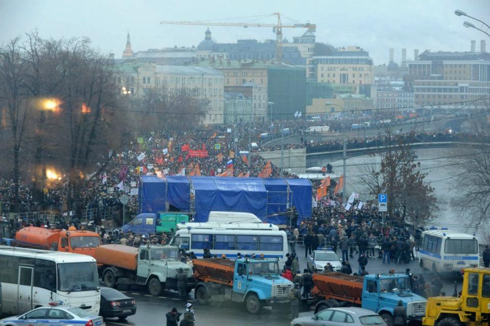 Болотная площадь митинг 10 декабря