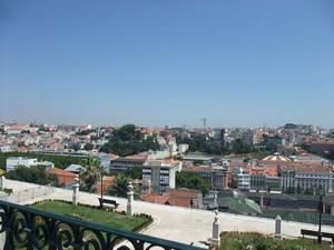 Лиссабон, вид с высоты
