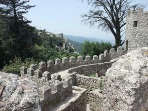 Синтра, вид с крепости