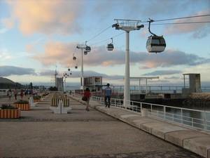 Лиссабон, фуникулёр на побережье