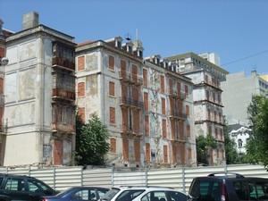 Лиссабон, замурованный дом