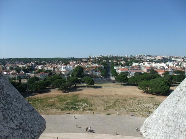 Лиссабон. Вид в город с Белемской башни