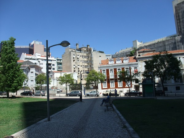 Лиссабон. Сквер