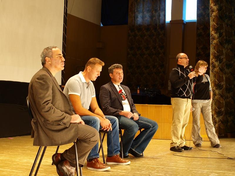 «Последняя осень» — основное событие: дебаты Навального, Каспарова, Немцова.