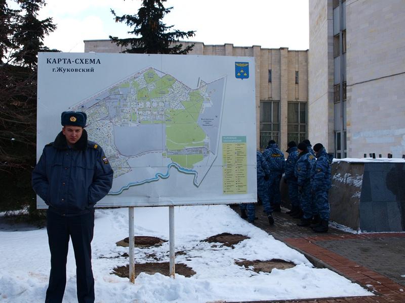 Сход в защиту цаговского леса Жуковский 24.03.2012