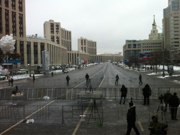 Митинг 24 декабря: пустая сцена