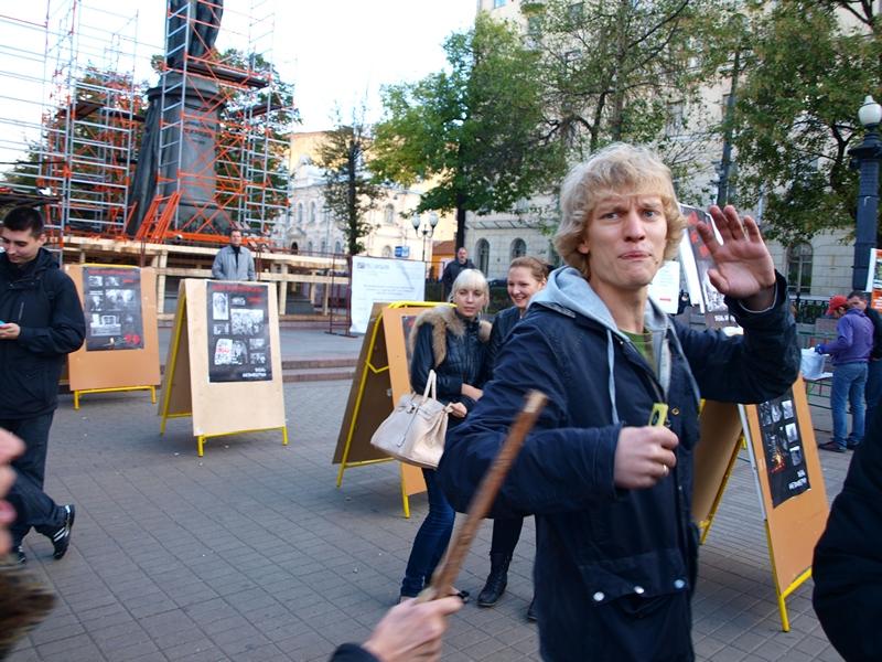 Пушкинская и Чистые Пруды 25.09.2011