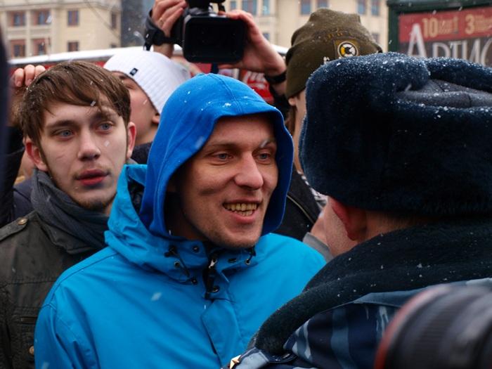 Площадь Революции Наши 26.02.2012