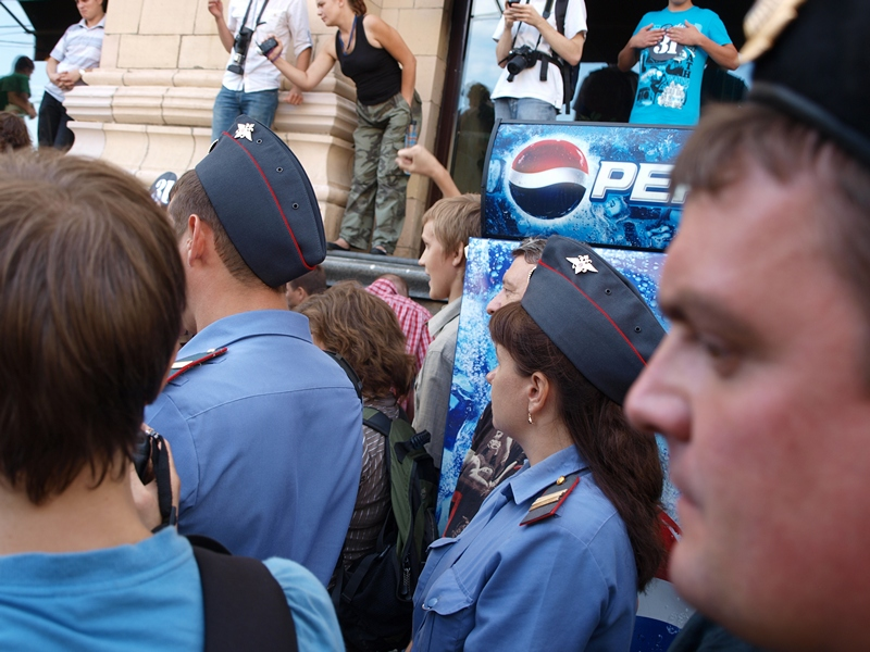 Триумфальная площадь, 31 июля 2011-го года
