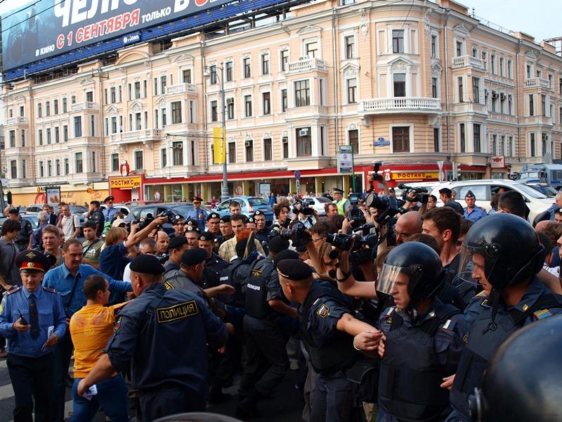 Триумфальная площадь 31.08.2011