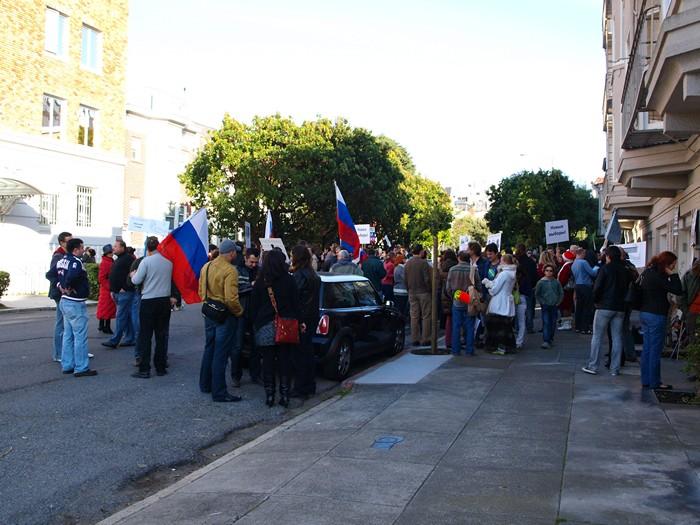 Митинг 10 декабря в Сан-Франциско