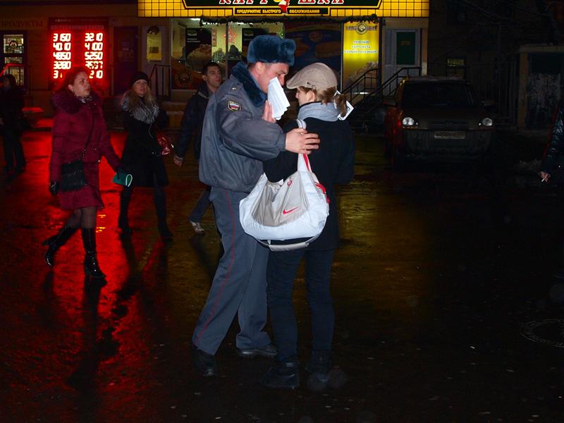 Пикет в поддержку Таисии Осиповой 10 января