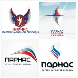 ПАРНАС логотип варианты