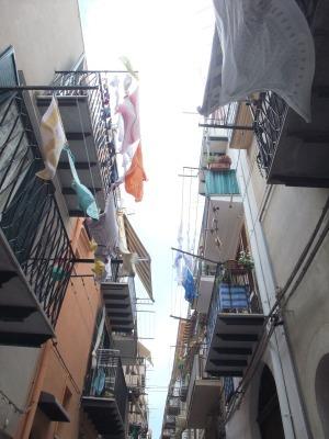 Сицилия, улица в Чифалу