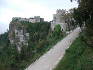 Сицилия, замок в Эриче