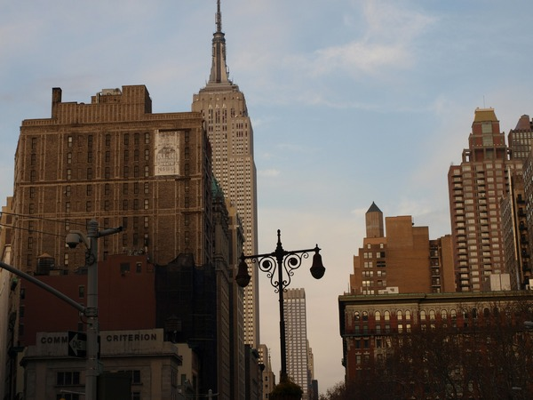 Нью-Йорк: Эмпайр-Стейт-Билдинг