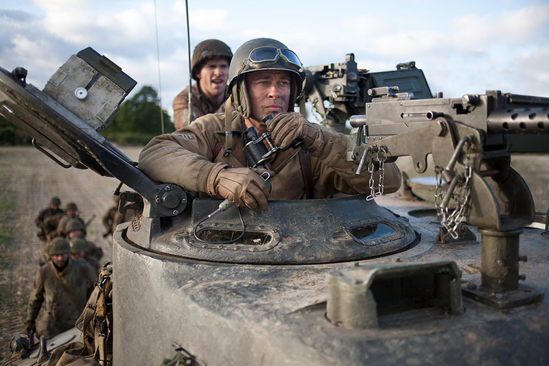 Fury Ярость кадр still Брэд Питт Brad Pitt
