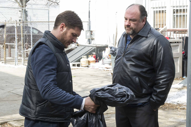 Общак The Drop Джеймс Гандольфини Том Харди James Gandolfini Tom Hardy кадр stills