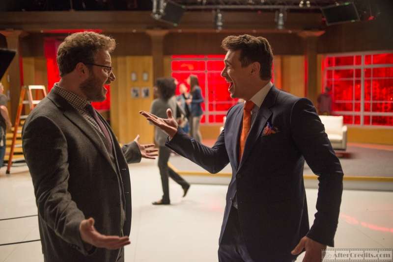 The Interview Интервью кадры stills Seth Rogen James Franco Сет Роген Джеймс Франко
