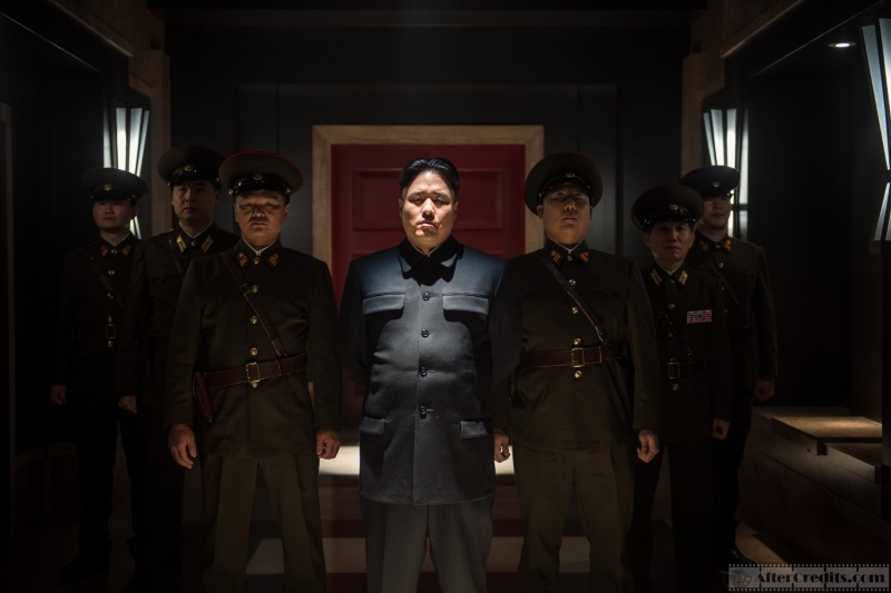 The Interview Интервью кадры stills Ким Чен Ын Рэндалл Парк Kim Jong-un Randall Park