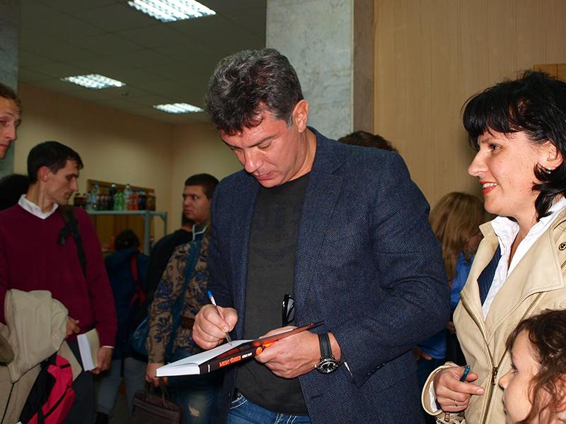 Борис Немцов 2011
