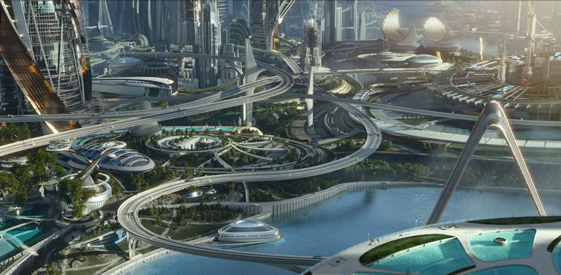 Земля будущего кадры Tomorrowland stills