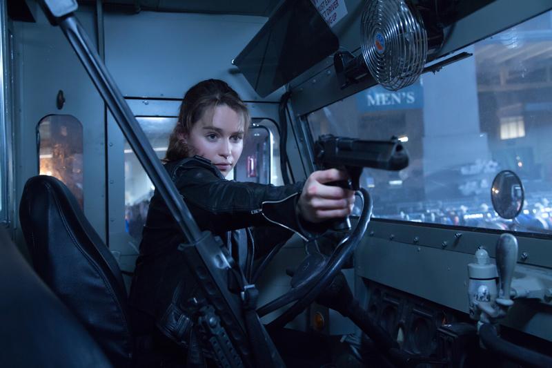 Терминатор Генезис кадры Эмилия Кларк Terminator Genisys stills Emilia Clarke