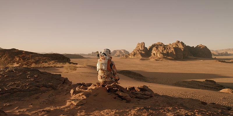 Марсианин кадры The Martian stills