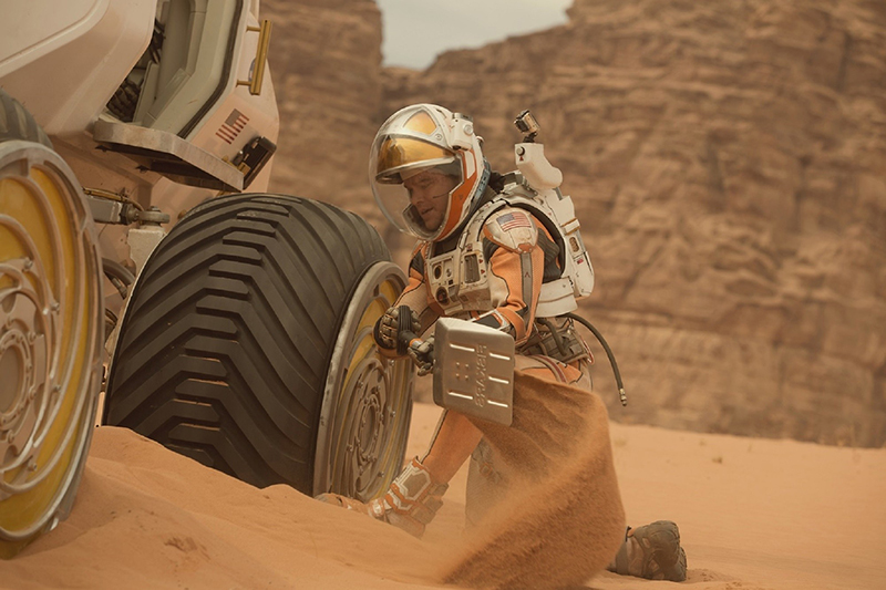 Марсианин кадры The Martian stills