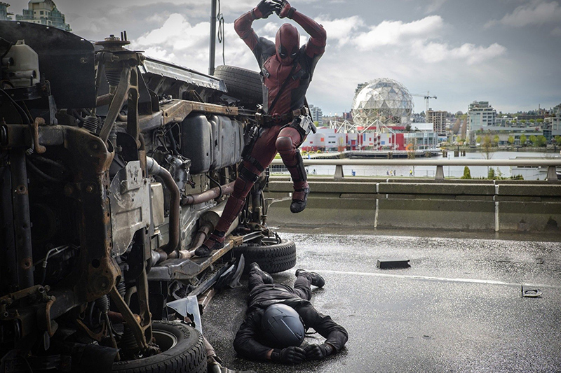 Дэдпул кадры Deadpool stills