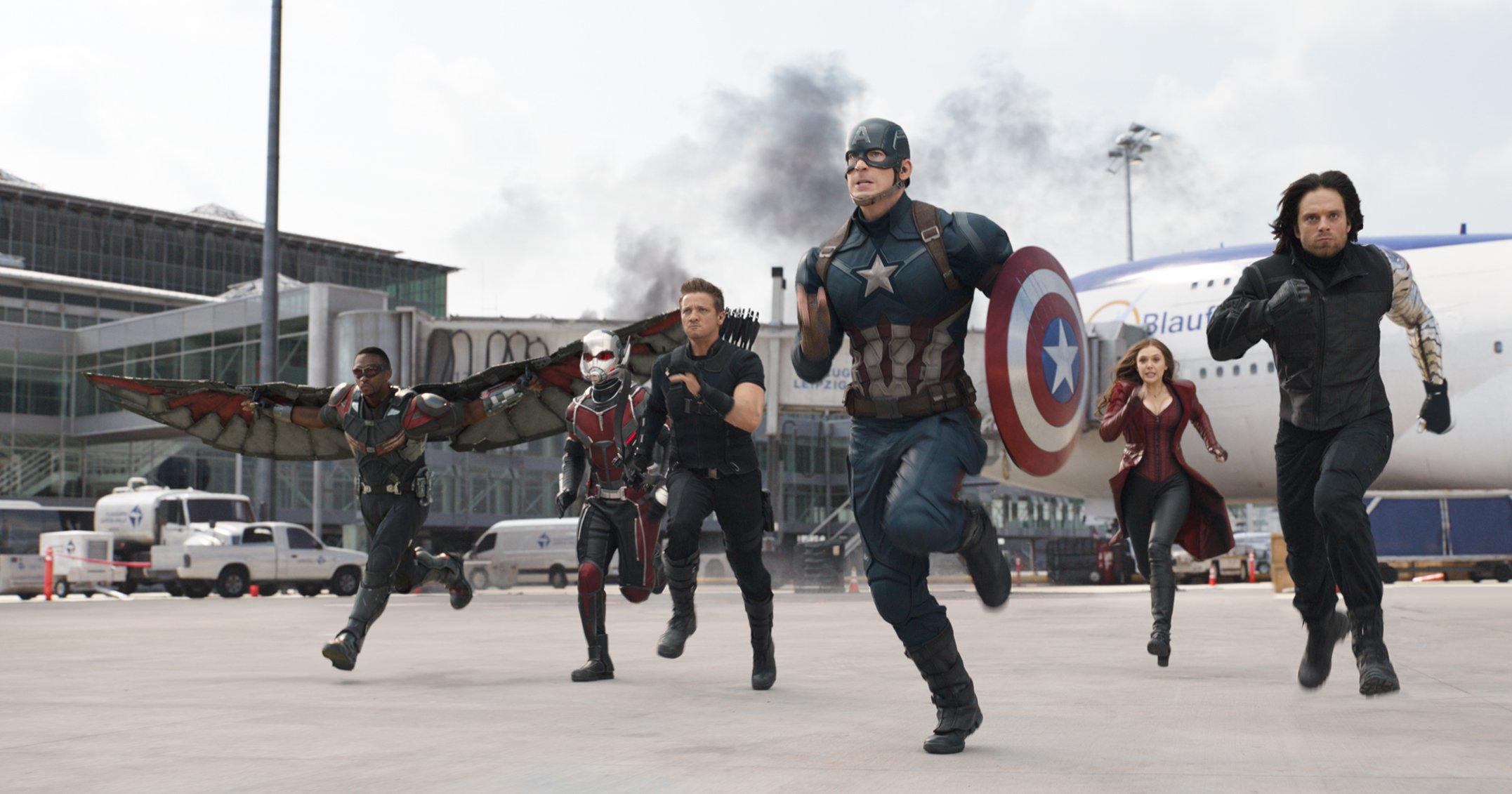 первый мститель противостояние кадры Captain America Civil War stills