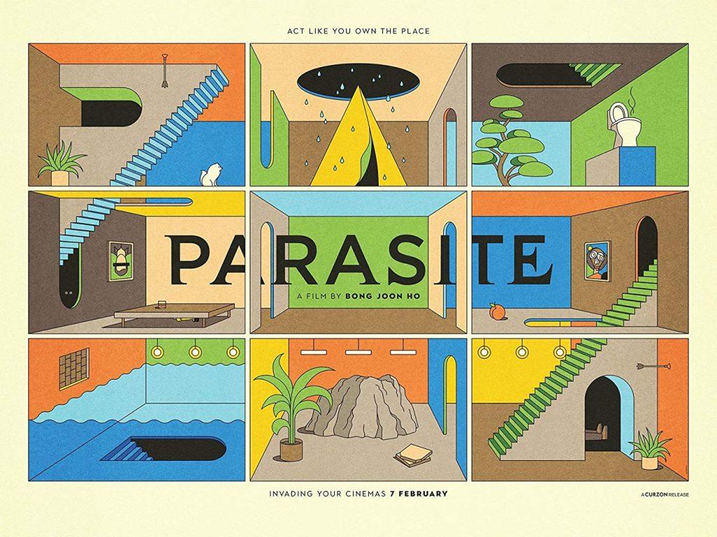Паразиты Пон Чжун Хо постер Parasite Curzon Cinema