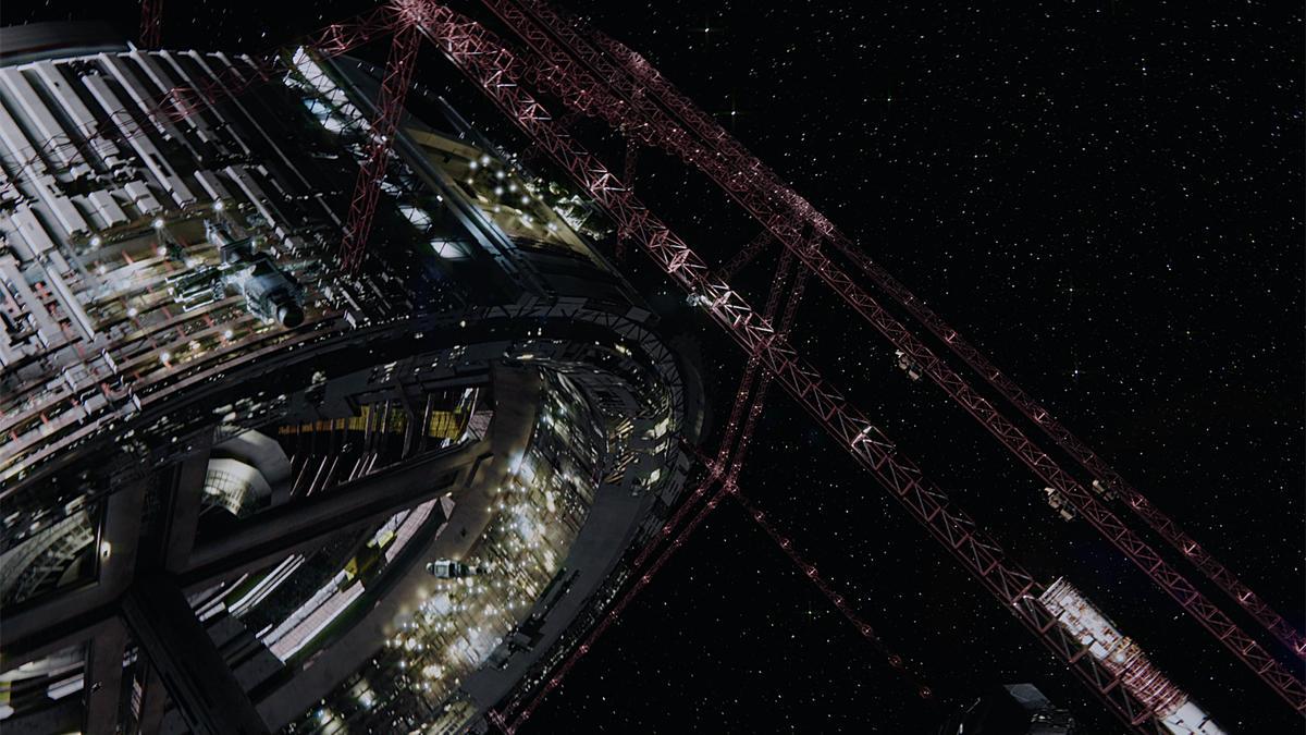 The Expanse Пространство космос кадры спецэффекты