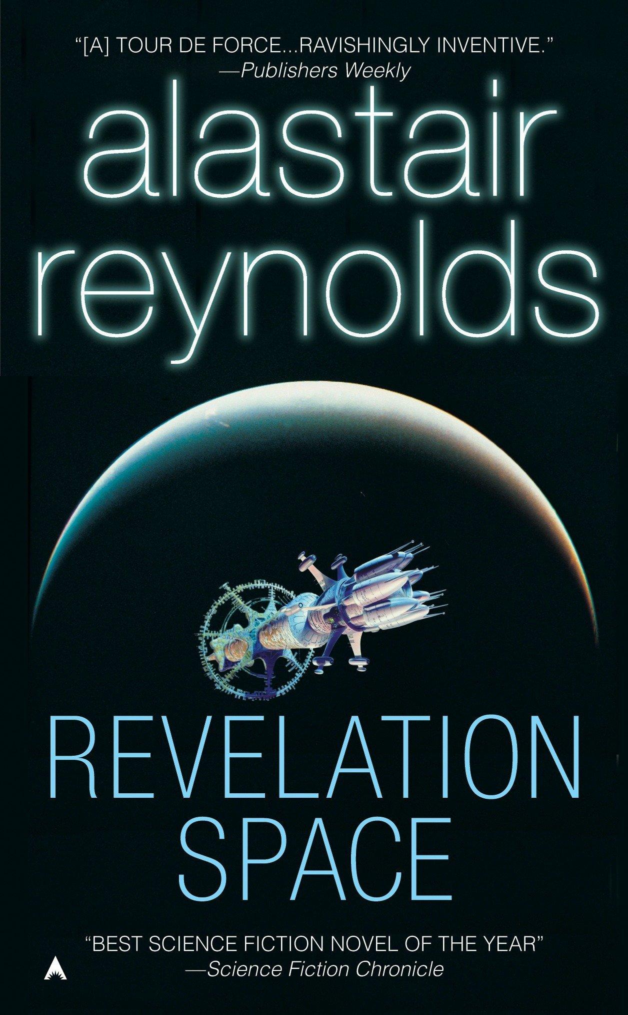 Аластер Рейнольдс пространство откровения revelation space обложка